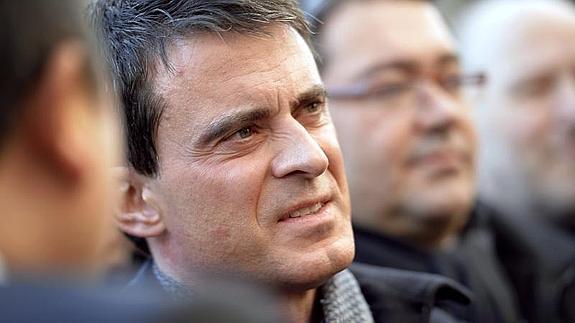 Situen Manuel Valls a Exteriors