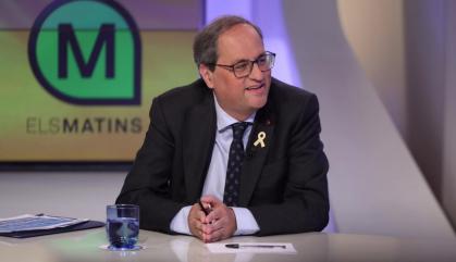 """Torra demanarà """"una reunió urgent"""" a Sánchez"""