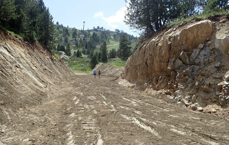 Els ecologistes demanen paralitzar les obres d'ampliació de Baqueira Beret