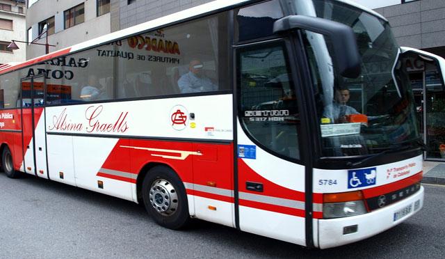 Convocatòria de vaga dels conductors d'Alsina Graells per als primers dies d'agost