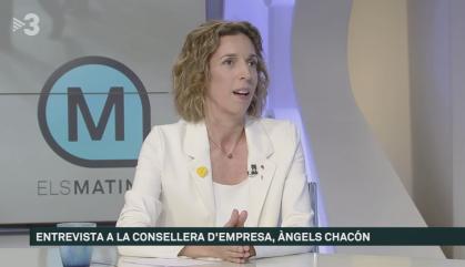"""Àngels Chacón: """"El del PSC és el millor dels pactes"""""""