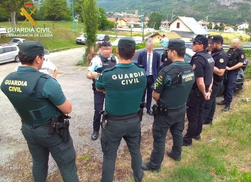 Controls policials conjunts entre França i Espanya i Andorra i França