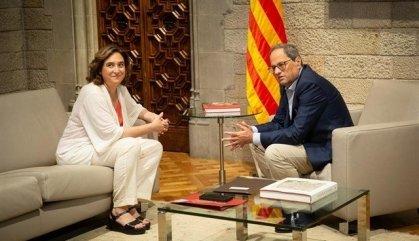 Colau reclama a Torra una inversió a Barcelona de 30 milions anuals