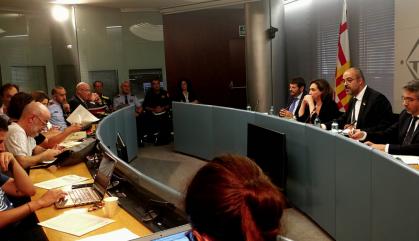 Buch i Colau acorden reobrir l'oficina de denúncies de la plaça de Catalunya