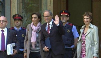 """Quim Torra fa el ploricó: """"Em volen inhabilitar per raons ideològiques"""""""