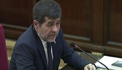 Jordi Sànchez vol una aturada de país si hi ha sentència condemnatòria
