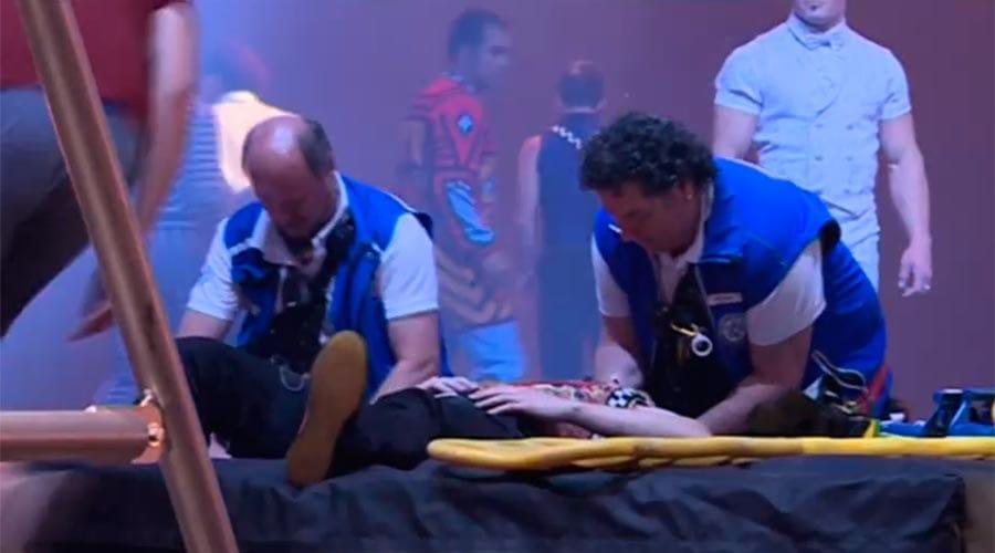 El Cirque du Soleil s'acomiada amb un altre artista lesionat dins de l'escenari