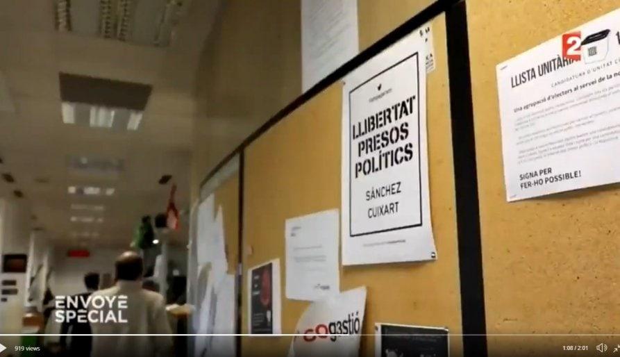Les redaccions de TV3 i Catalunya Ràdio 'on fire' processista permanent