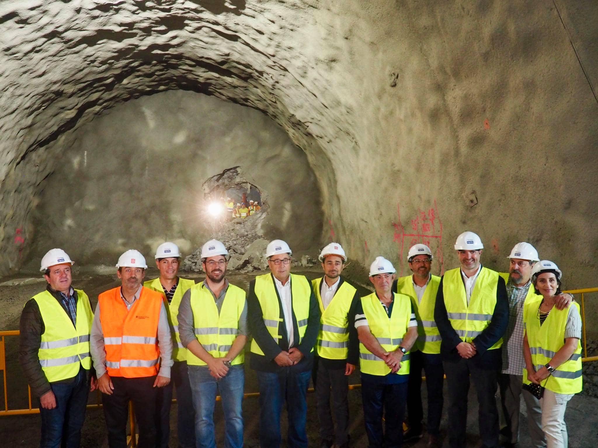 Paralitzades les obres del túnel de Tresponts per impagaments de la Generalitat