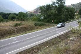 Un motorista es troba en estat molt greu en un accident a la C-14, a Coll de Nargó