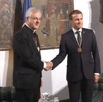 Els coprínceps Macron i Vives es troben a Casa de la Vall