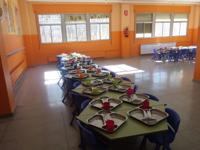 Junts i ERC de la Seu contraris a la gestió pública dels menjadors escolars