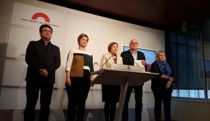 Els sobiranistes de la Mesa del Parlament del 2017, a judici el 19 de novembre