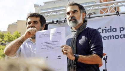 La Fiscalia demana prorrogar la presó per a Jordi Sànchez i Jordi Cuixart