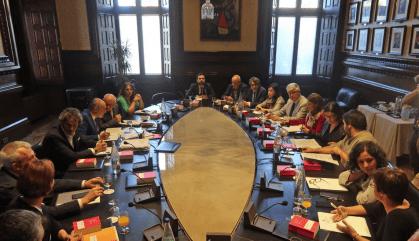 JxCat, ERC i la CUP pacten un nou desafiament al TC