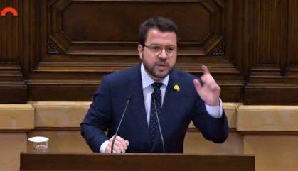 """La Generalitat diu que el discurs del general Garrido """"és una vergonya"""""""