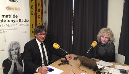 Puigdemont nega tot contacte amb els CDR detinguts