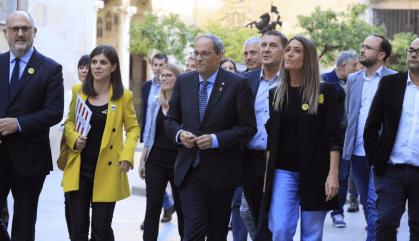 Torra emprenya la Comunitat Palestina de Catalunya