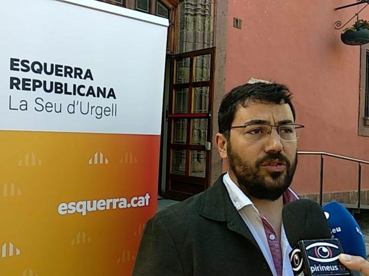 Xesco Viaplana plega com a president d'ERC de l'Alt Pirineu i Aran
