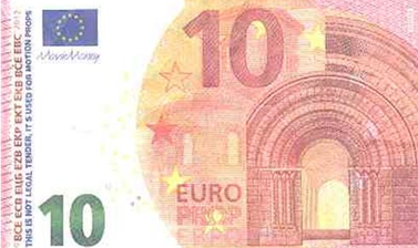 Alerta per la detecció de bitllets falsos de 5, 10, 20 i 50 euros