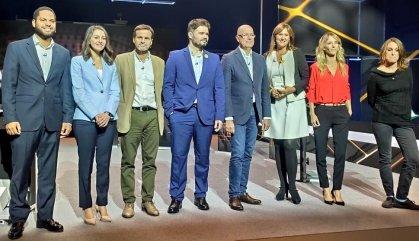 El bloc independentista exhibeix divisió en el debat electoral català