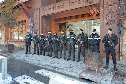 Guàrdia Civil, Policia Nacional i Mossos prenen Andorra per la Cimera Iberoamericana