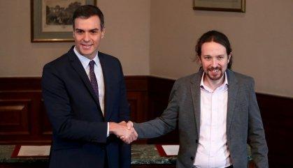 La por a l'extrema dreta aboca a Sánchez i Iglesias a un govern de coalició
