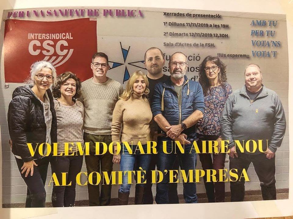 ERC i JuntsxCat volen controlar el comité d'empresa de l'hospital de la Seu