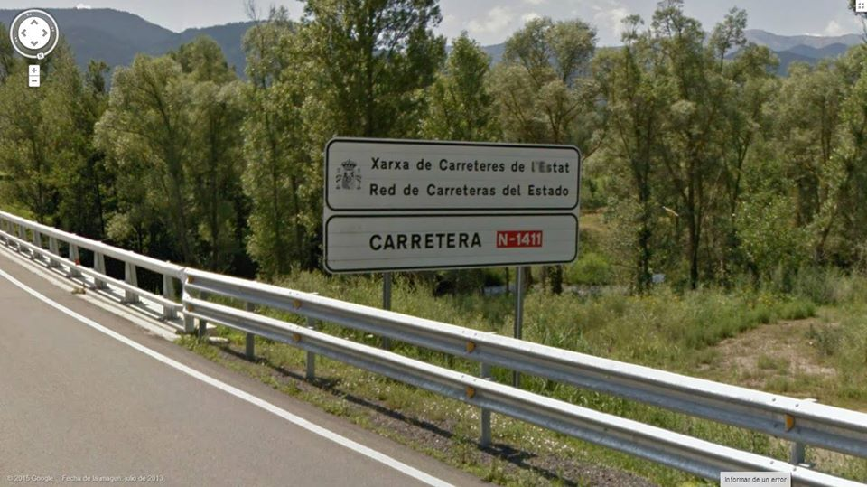Dos joves de la Seu i Puigcerdà, de 18 anys, ferits al bolcar el seu vehicle a la N-1411