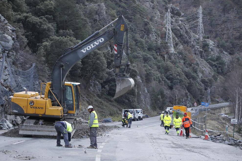 C-13: Veïns del Pallars Sobirà se senten deixats de la mà del Govern