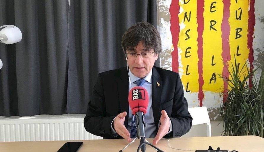 Puigdemont no té previst tornar aviat a Catalunya