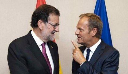 """Tusk va aconsellar a Rajoy que """"no utilitzés la força contra la gent l'1-O"""""""