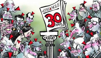 El setmanari EL TRIANGLE celebra el 30 aniversari