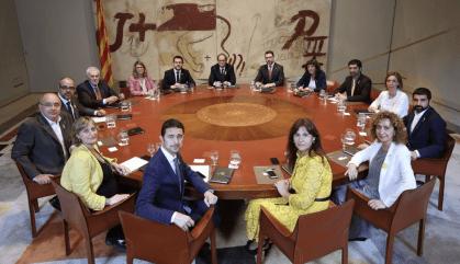 La majoria dels catalans no confia en el govern de Torra