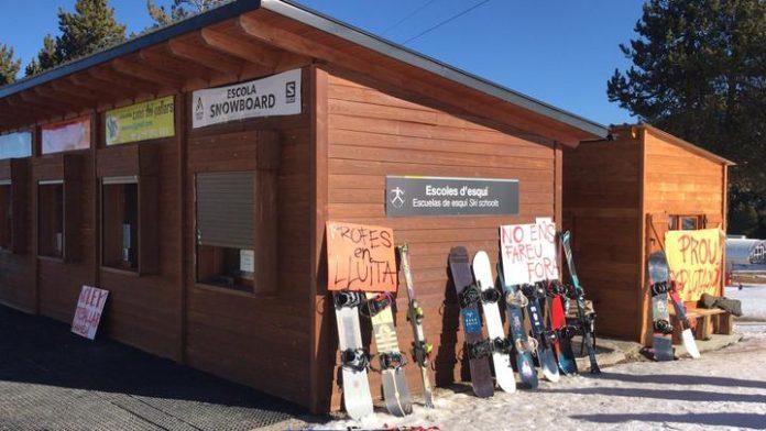 Els tècnics d'esports de neu de l'estació de Port Ainé denuncien amenaces i coaccions