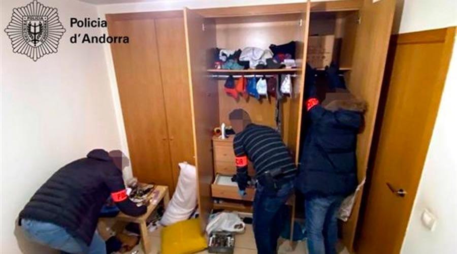 Noves detencions en l'operació antidroga que operava en un narcopís d'Andorra la Vella
