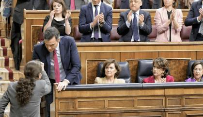 Pedro Sánchez foragita el fantasma del 'tamayazo'