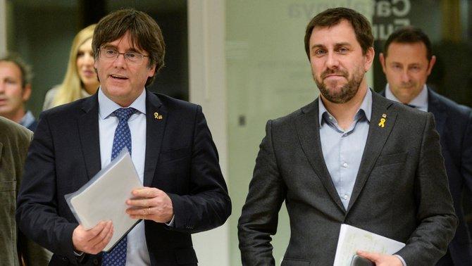 El Parlament Europeu pagarà 70.000 euros d'endarreriments a Puigdemont i Comín