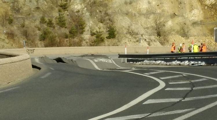 Les estacions d'esquí critiquen el tall de la carretera que uneix Puigcerdà i Perpinyà