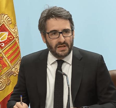 El govern d'Andorra desmenteix Fàbrega sobre un acord tancat per utilitzar Meritxell