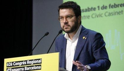 Aragonès descarta acords amb el PSC