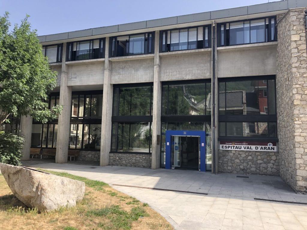 Ingressades 12 persones pel Covid-19 a diferents  hospitals de l'Alt Pirineu i Aran