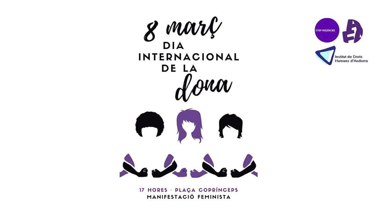 Les entitats feministes andorranes criden a manifestar-se diumenge per exigir els seus drets