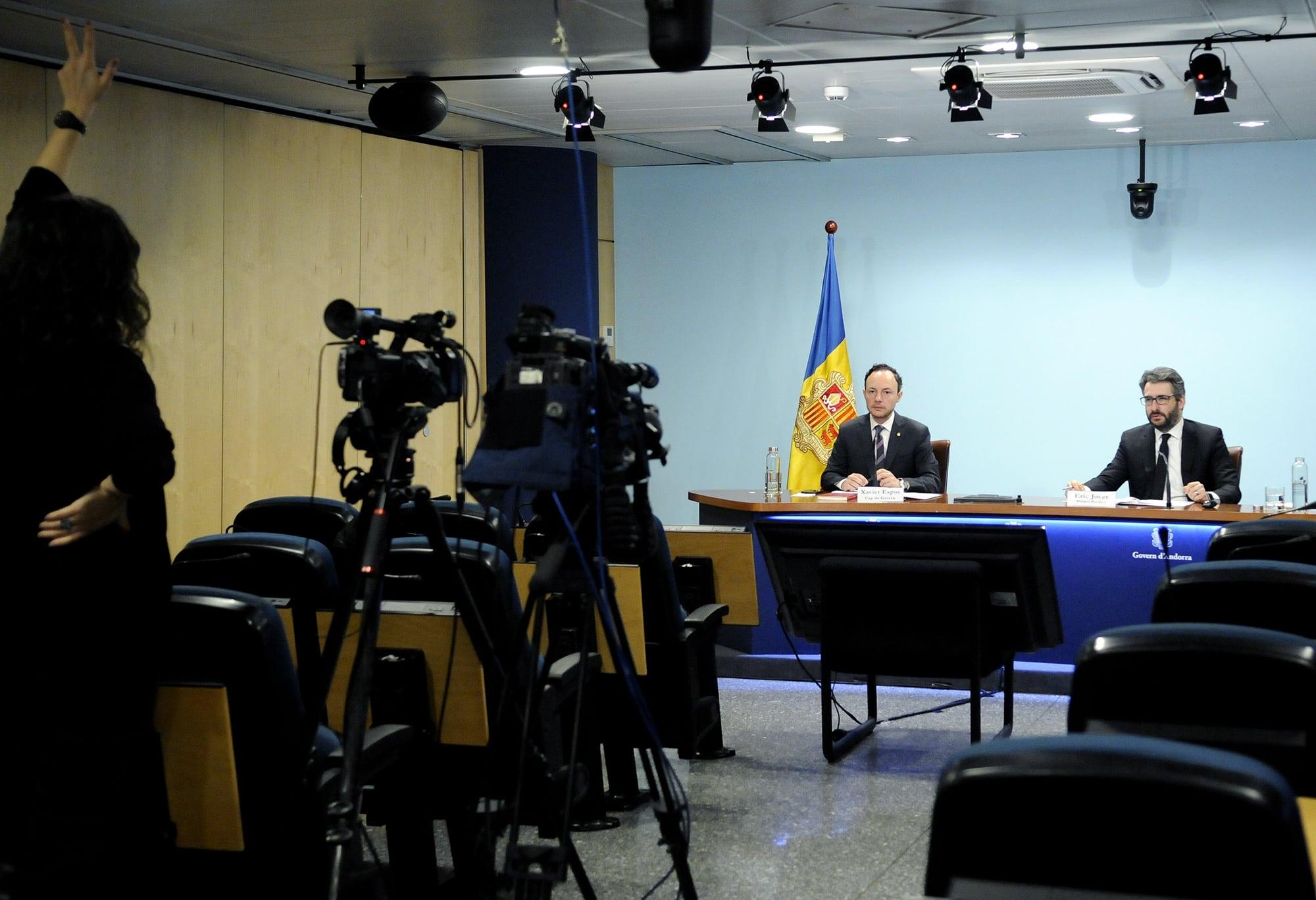 El Govern d'Andorra prorroga 'sine die' les mesures excepcionals per la crisi sanitària