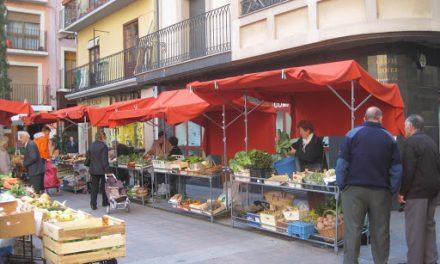 Reobren els mercats d'aliments a l'aire lliure com el d'Organyà i altres, com el de la Seu, ho faran els pròxims dies