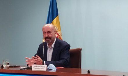 Prop de 700 casos positius i dues defuncions més per coronavirus al Principat d'Andorra