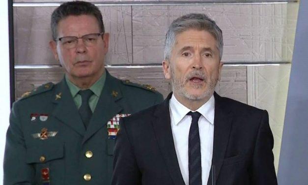 Plega el número dos de la Guàrdia Civil emprenyat pel cessament de Pérez de los Cobos