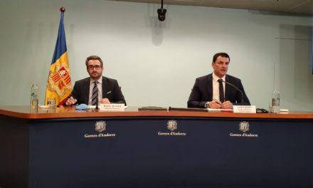 L'executiu andorrà anuncia un segon paquet de crèdits tous per empreses i autònoms per 100 milions d'euros