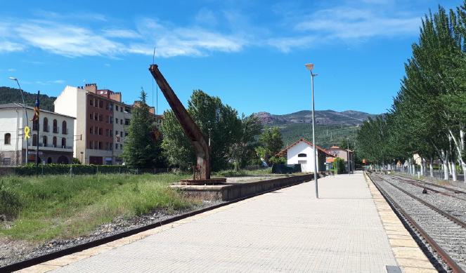La Pobla de Segur remodelarà l'entorn de l'estació de tren per fomentar el turisme