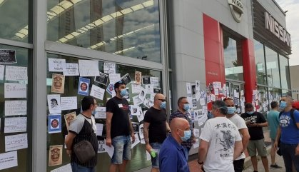 Els concessionaris de Nissan són objecte de les ires dels treballadors